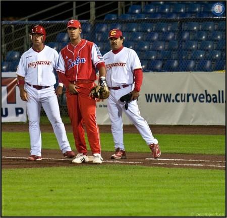 WK Honkbal 2009 - Nederland <([])> Cuba - Spanje