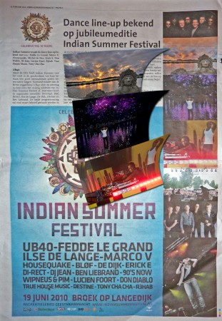 M'n foto's in een paginagrote ad voor ISF 2010