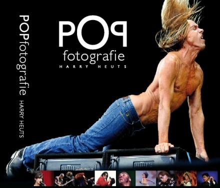 Het boek Popfotografie van Harry Heuts