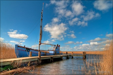 Vissersbootje in Denemarken