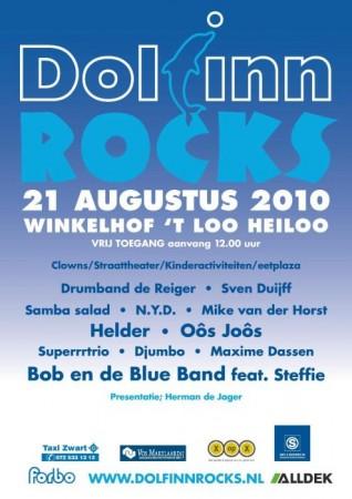 Programma Dolfinn Rocks 2010