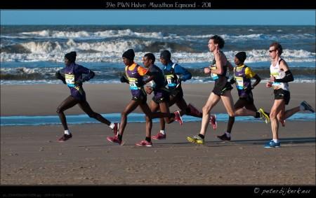 Halve Marathon Egmond - 2011